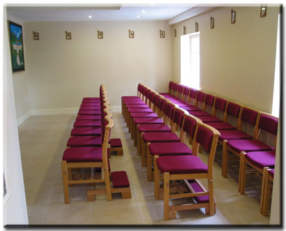 Seating at God's Cottage